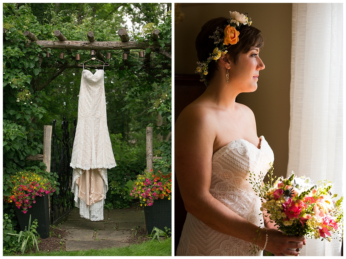 Lovely Bride, Garden Wedding, Bridal Portrait