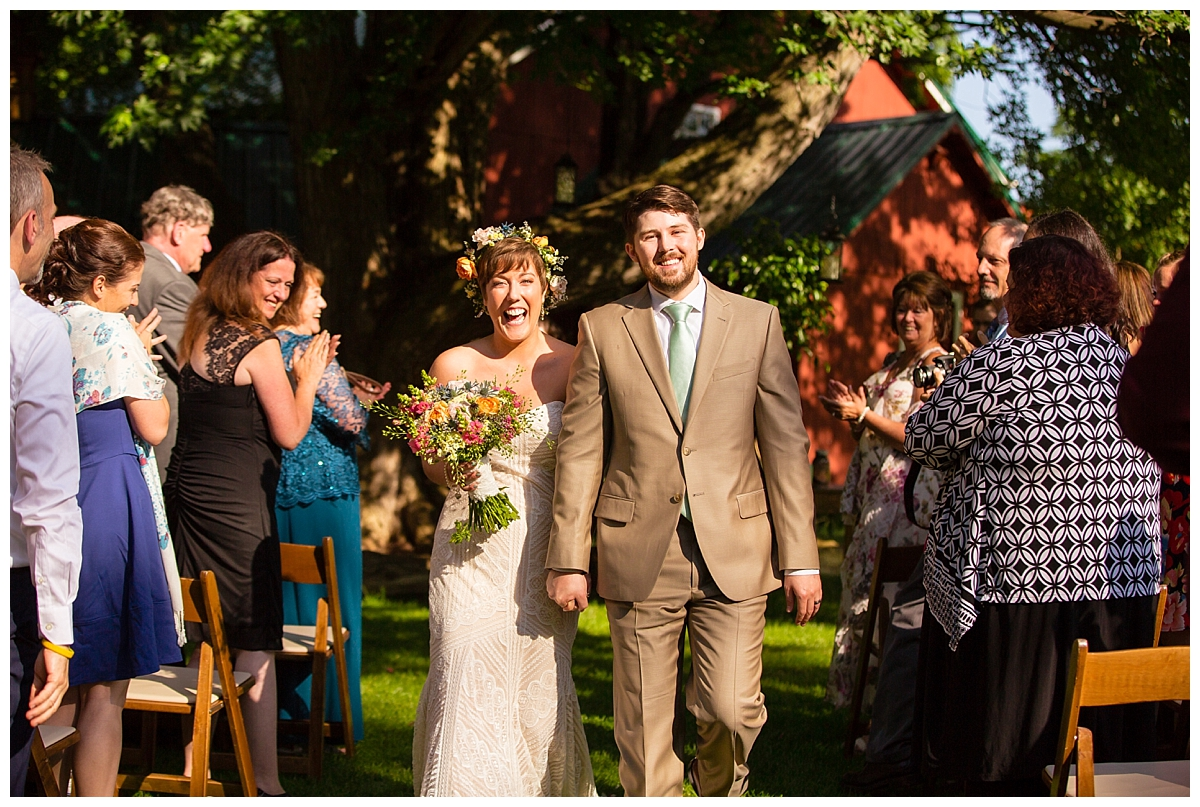 joyful couple, sundrenched wedding, barn wedding