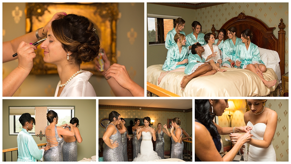 bridal prep, pronovios bride, woodcliff lodge bride