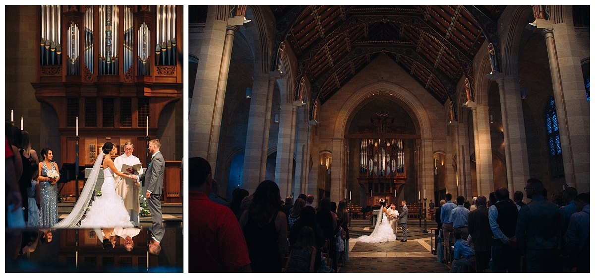catholic church wedding, rochester new york wedding