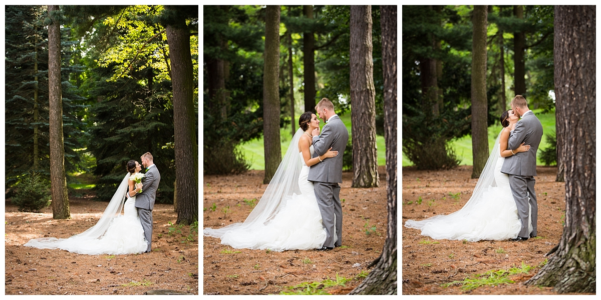 wedding portraits in the woods, the beautiful light, Colgate wedding