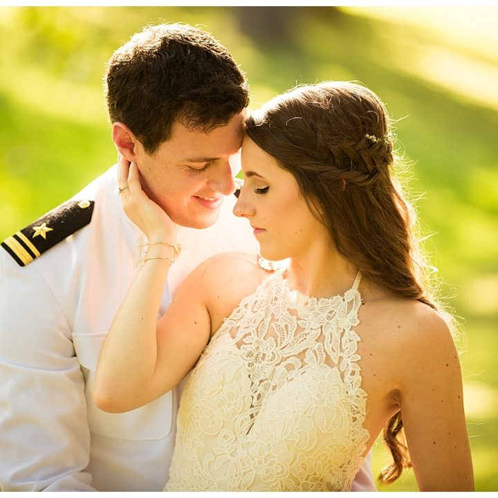 What do you get when you combine Boho Chic with a Military Wedding? Perfection.