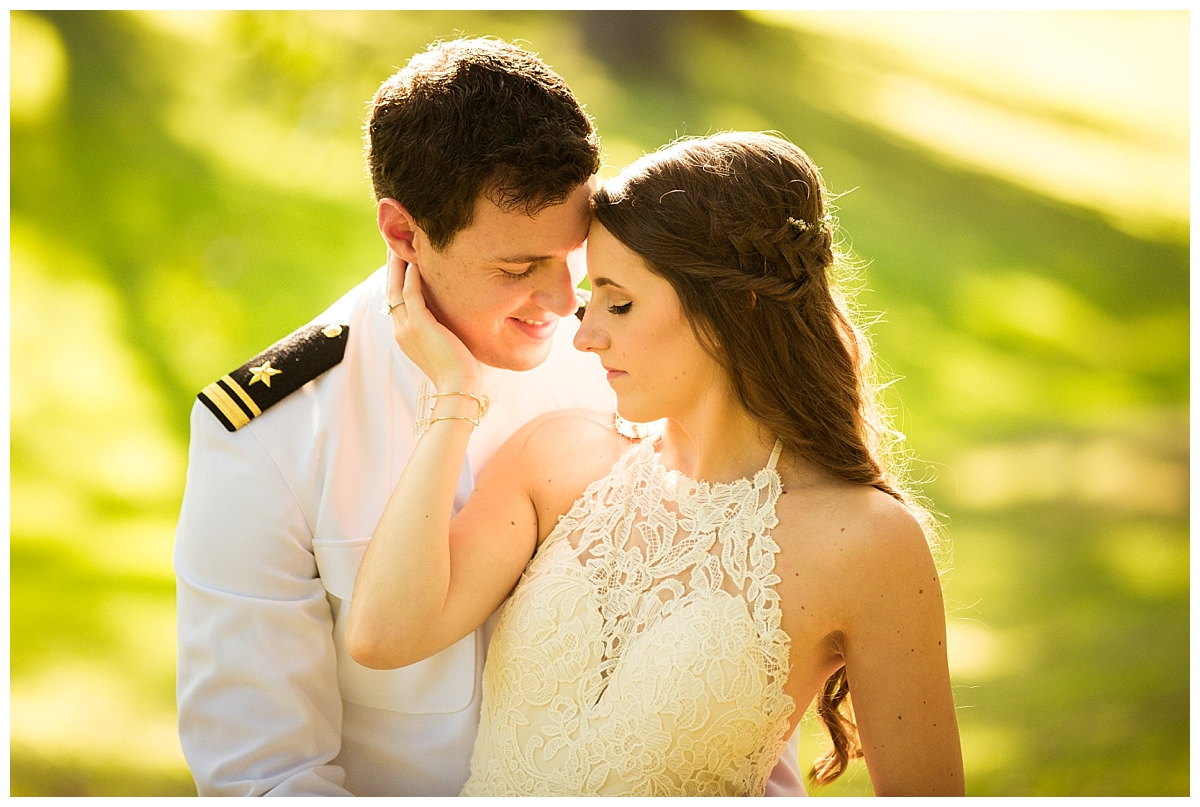 Military wedding, naval wedding, boho bride, ciao bella studios